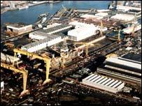 Shipyard view