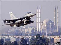 US F16 aircraft