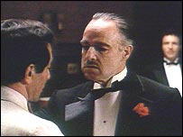 Marlon Brando as Don Corleone in The Godfather