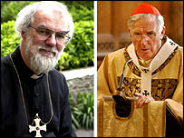 Dr Rowan Williams and Cardinal Cormac Murphy-O'Connor