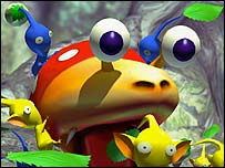 Pikmin screenshot, Nintendo