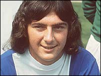 A young Trevor Francis in Birmingham colours