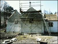 St Teilo Church, reconstruction