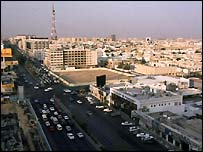 Riyadh skyline