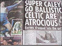 The famous Sun headline