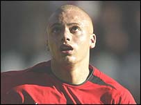 Wes Brown suffered a hamstring injury against Fulham