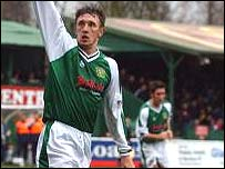 Kirk Jackson scored both Yeovil goals