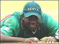 Kenya skipper Steve Tikolo