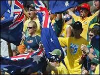 Australian supporters
