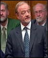 Robin Cook MP, former leader of the House of Commons