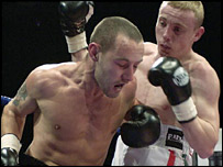 Jamie Arthur beat Daniel Thorpe on points over four rounds
