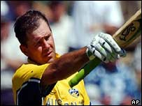 Ponting was named man of the match after smashing 140