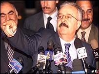 Iraqi Foreign Minister Naji Sabri