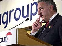 Citigroup CEO Sanford Weill