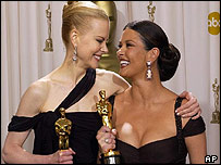Nicole Kidman and Catherine Zeta Jones
