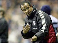 Tigana is on his way out of Fulham