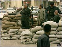 Baghdad street scene, AP