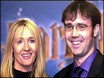 JK Rowling and Dr Neil Murray