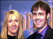 Joanne Rowling and Neil Murray