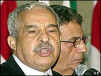 Libya's Ali al-Treiki