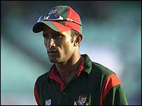 Bangladesh captain Khaled Mashud