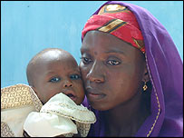 Amina Lawal and child