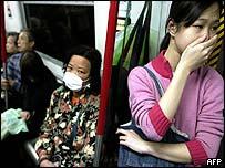 Hong Kong residents taking precautions