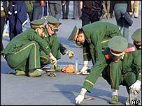 Tiananmen Square gum