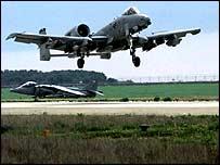 Tankbuster A10 aircraft   PA