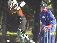 Tushar Imran of Bangladesh and Owais Shah of England
