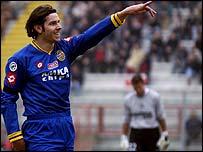Liechtenstein striker Mario Frick