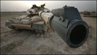 British Challenger tank