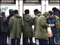 Asylum seekers in France