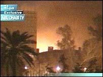 Baghdad (picture: Abu Dhabi TV)