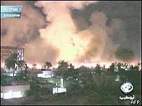 Air raids on Baghdad