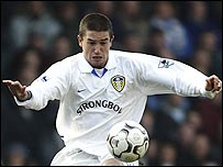Leeds forward Harry Kewell