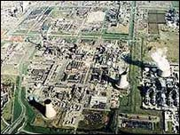 Chemical plants at Wilton on Teesside