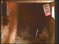 The O'Malleys' bodies were found in this basement