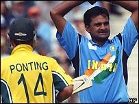 Srinath exasperated as Ponting makes runs