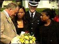 Ken Livingstone with Doreen Lawrence