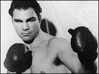 Former world heavyweight champion Max Schmeling