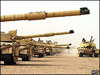 British Challenger 2s in Iraq