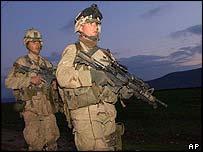 US paratroopers in Harir airfield