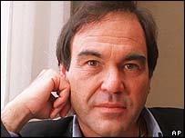Film director Oliver Stone