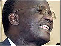 Zimbabwe Information Minister Jonathan Moyo