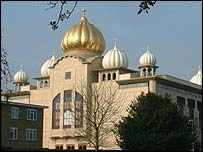 The Sri Guru Singh Sabha Gurdwara
