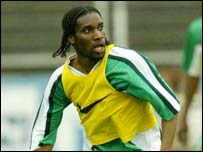 Nigerian captain Jay Jay Okocha
