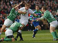 Ben Cohen causes yet more trouble for the Irish defence