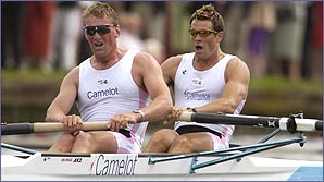 Matthew Pinsent and James Cracknell