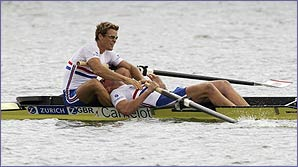 James Cracknell and Matthew Pinsent